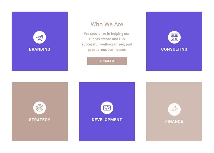 Directions of our company Web Page Design