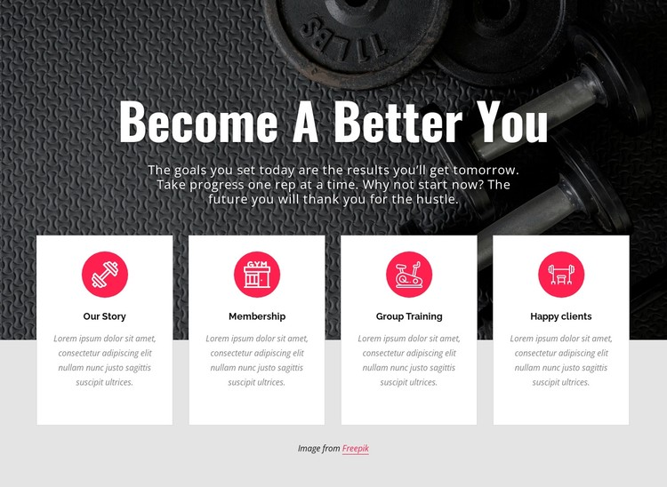 Becone a better you Static Site Generator