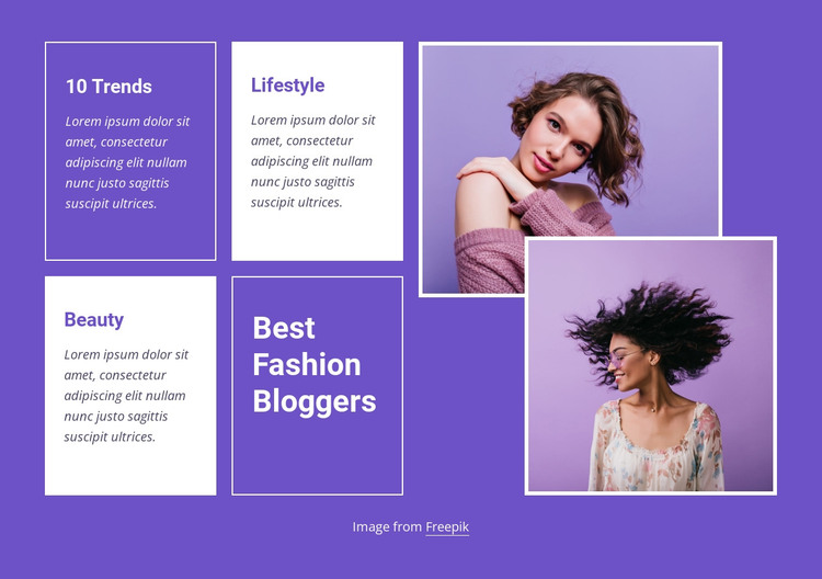 Best fashion trends HTML Template
