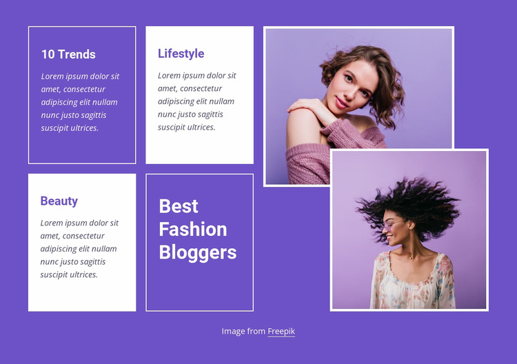 Best fashion trends WordPress Website Builder