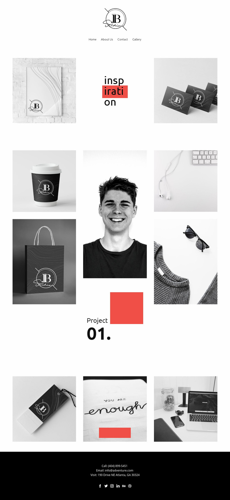 Inspiration Web Page Design