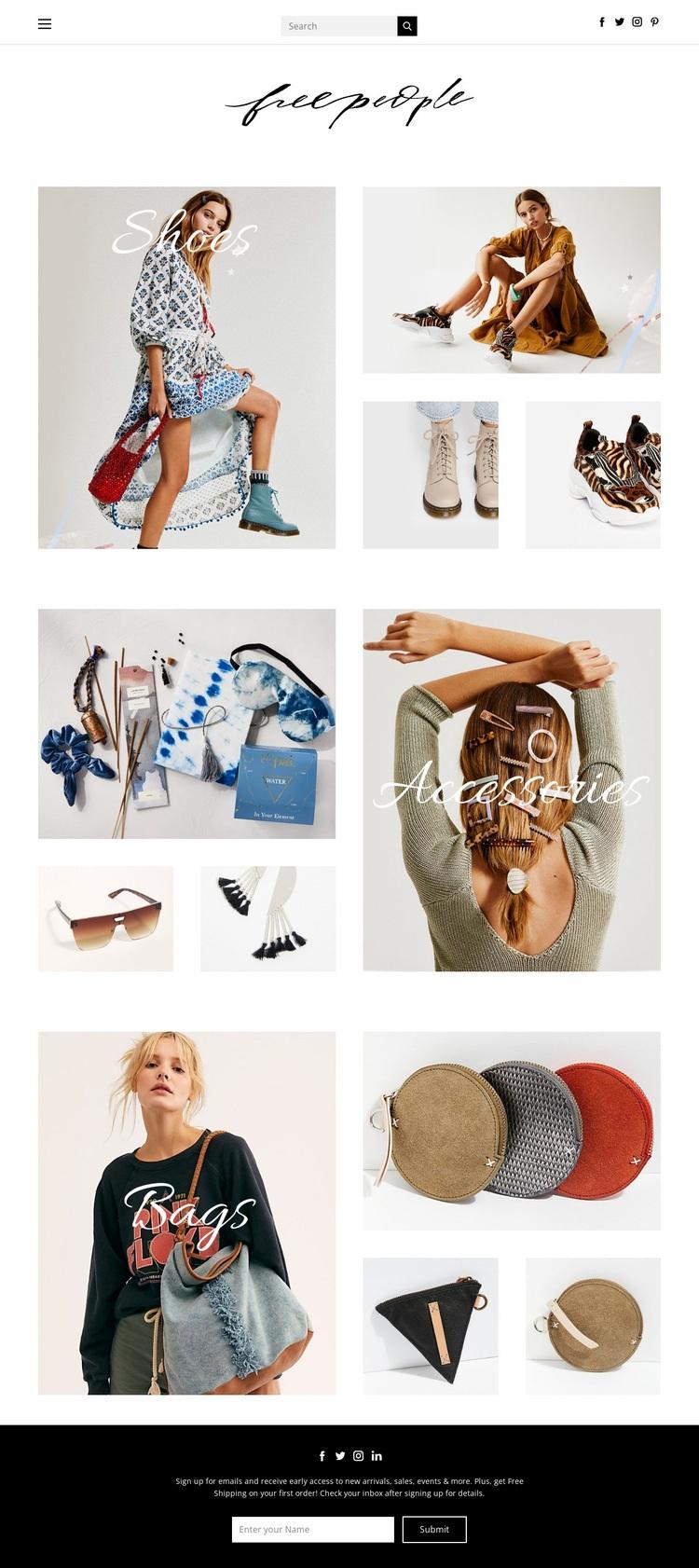 fashion Html Code Example