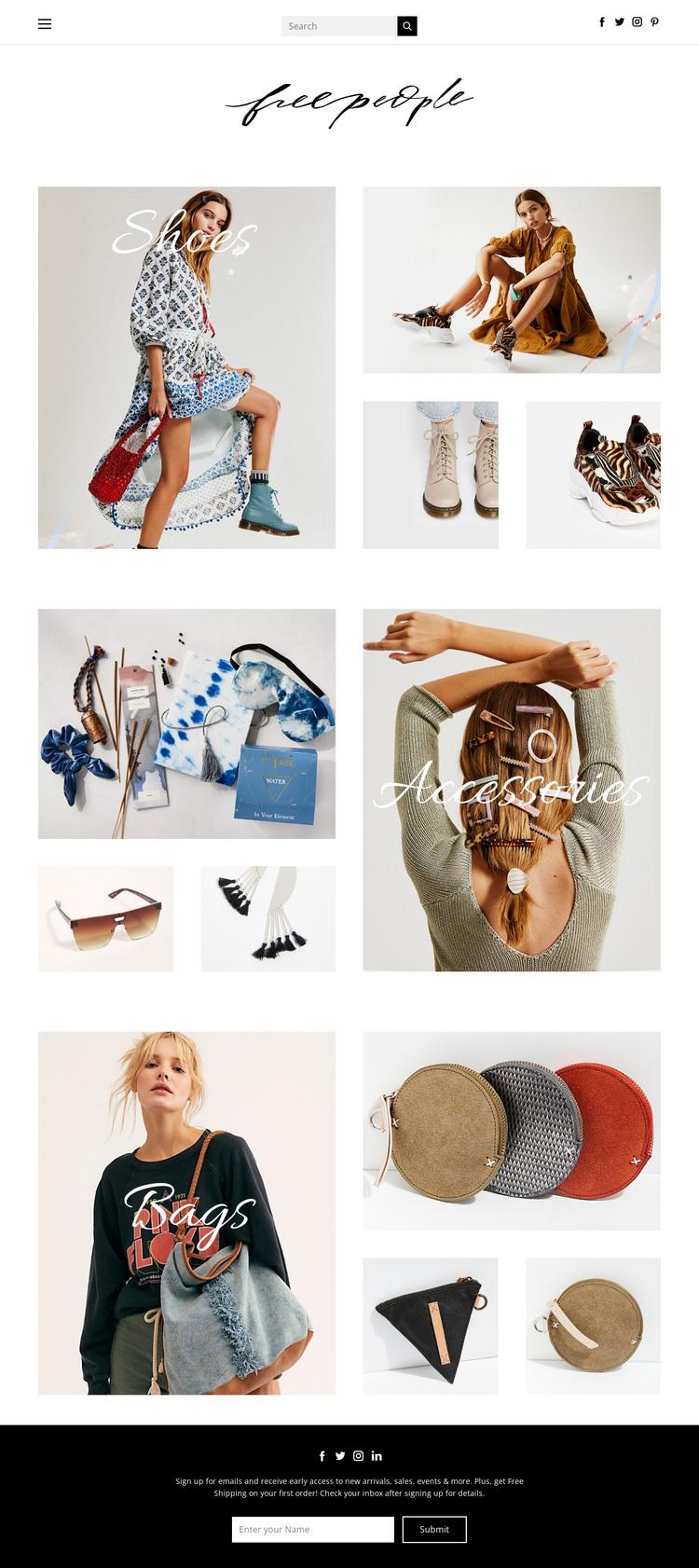 fashion HTML Template