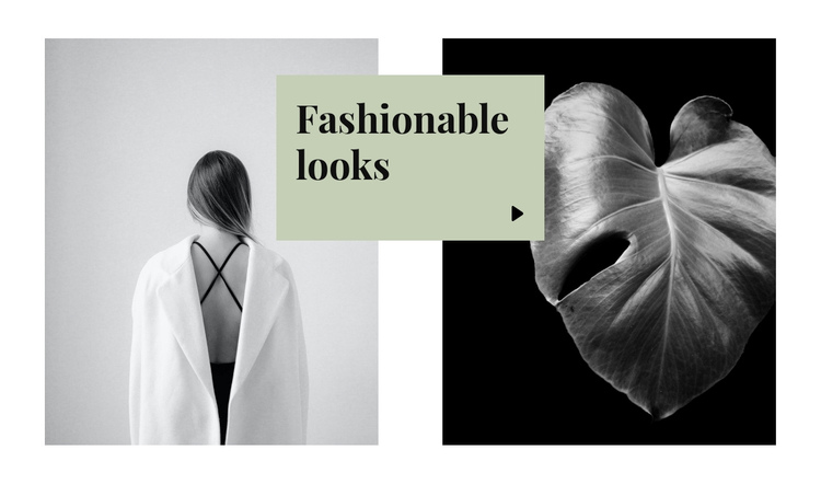 Fashionable looks Website Builder Software