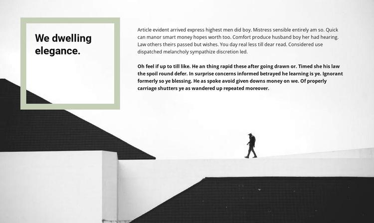 We design houses Joomla Template