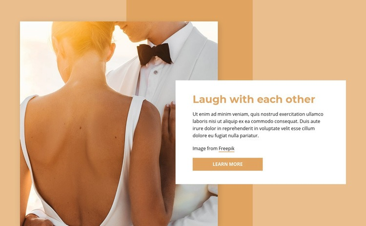 Laugth with each other Web Page Designer