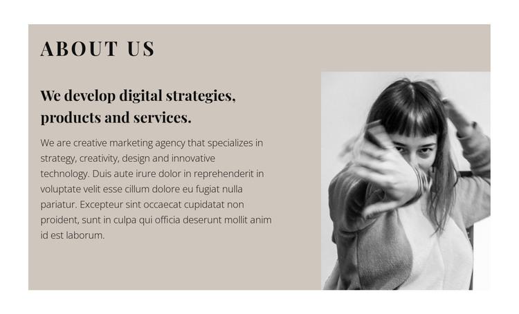 Get to know us closer WordPress Theme