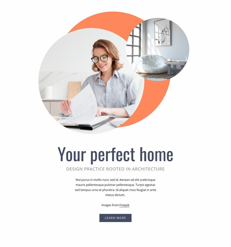 Your perfect home Html Code Example