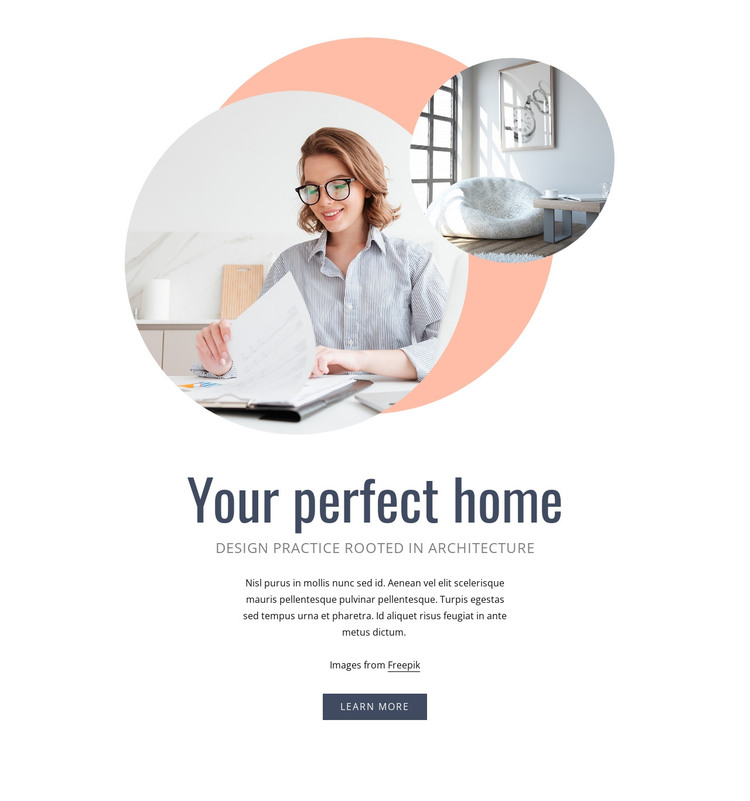 Your perfect home HTML Template