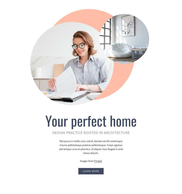 Your perfect home Template