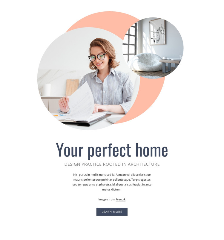 Your perfect home Web Design