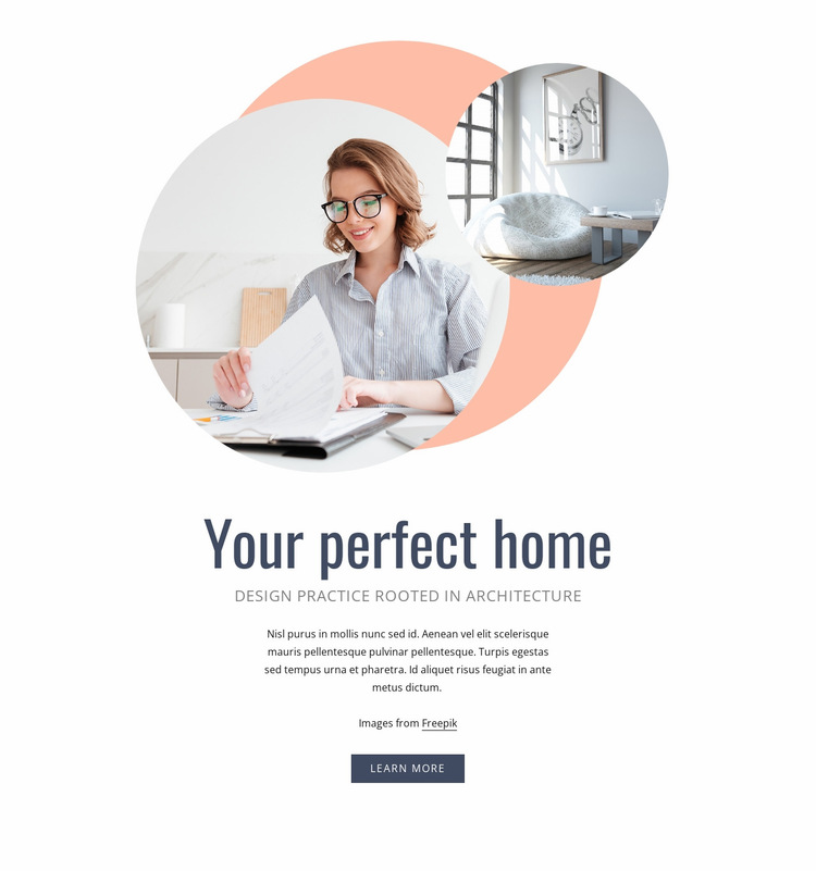 Your perfect home Website Builder Templates