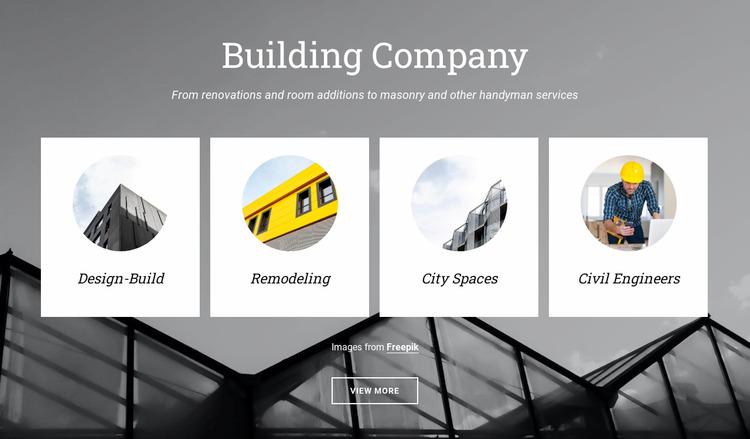 Planning city spaces WordPress Website Builder