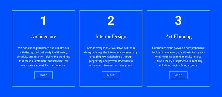 Achitecture and interior HTML Template