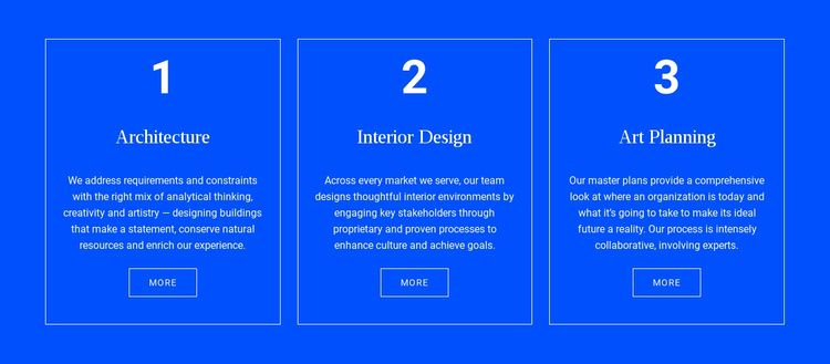 Achitecture and interior Website Template