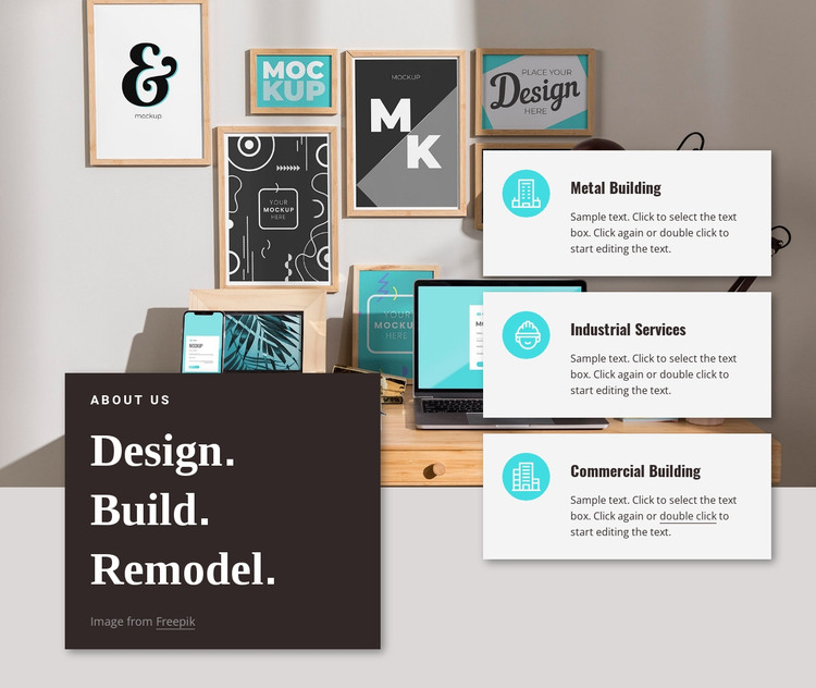 Create innovations HTML Template