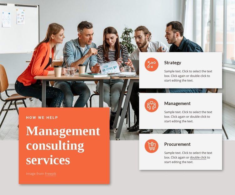 Strategy, digital, advanced analytics Web Page Designer