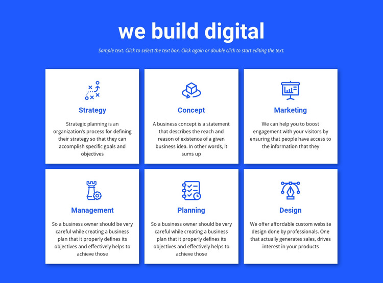 We build digital projects HTML5 Template