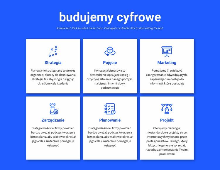 Budujemy projekty cyfrowe Szablon Joomla