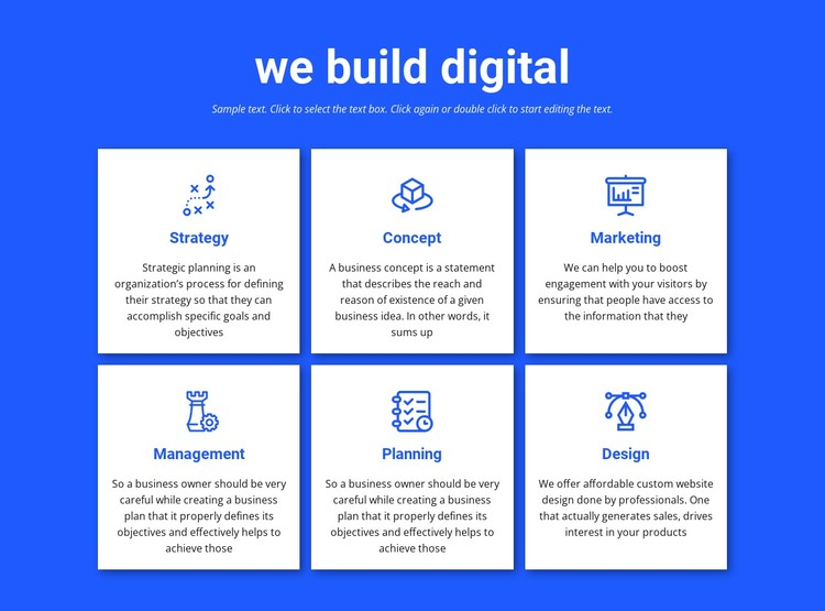 We build digital projects Static Site Generator