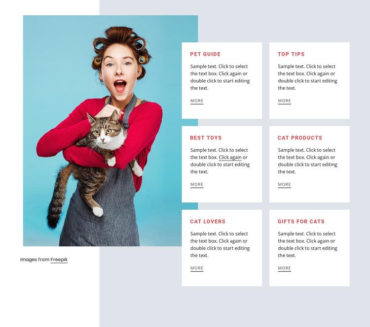 Cat guide Joomla Template