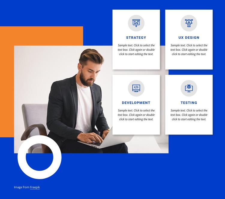 Leading digital product studio Joomla Template