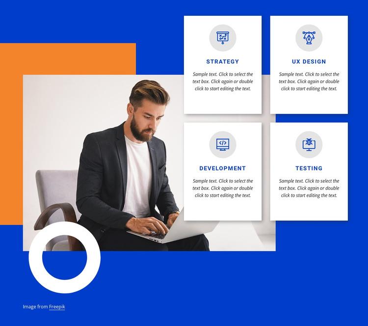 Leading digital product studio WordPress Theme