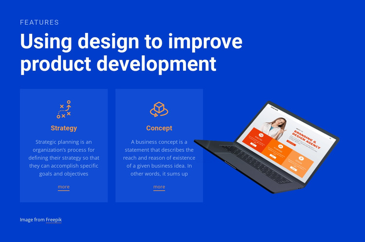 We create highly effective original campaigns HTML Template
