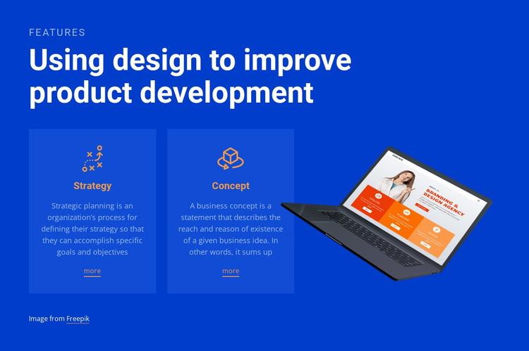 We create highly effective original campaigns Website Mockup