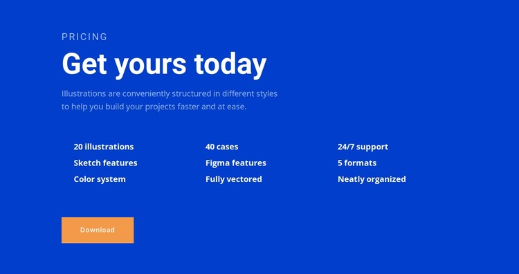 Digital tools CSS Template