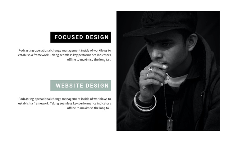 Directions in web design Website Builder Software