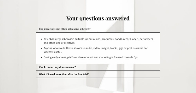 Answers to important questions Html Website Builder