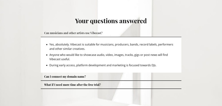 Answers to important questions Web Design