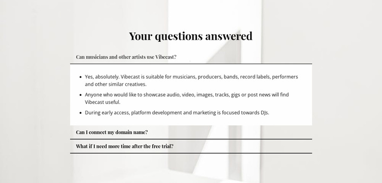 Answers to important questions Website Design