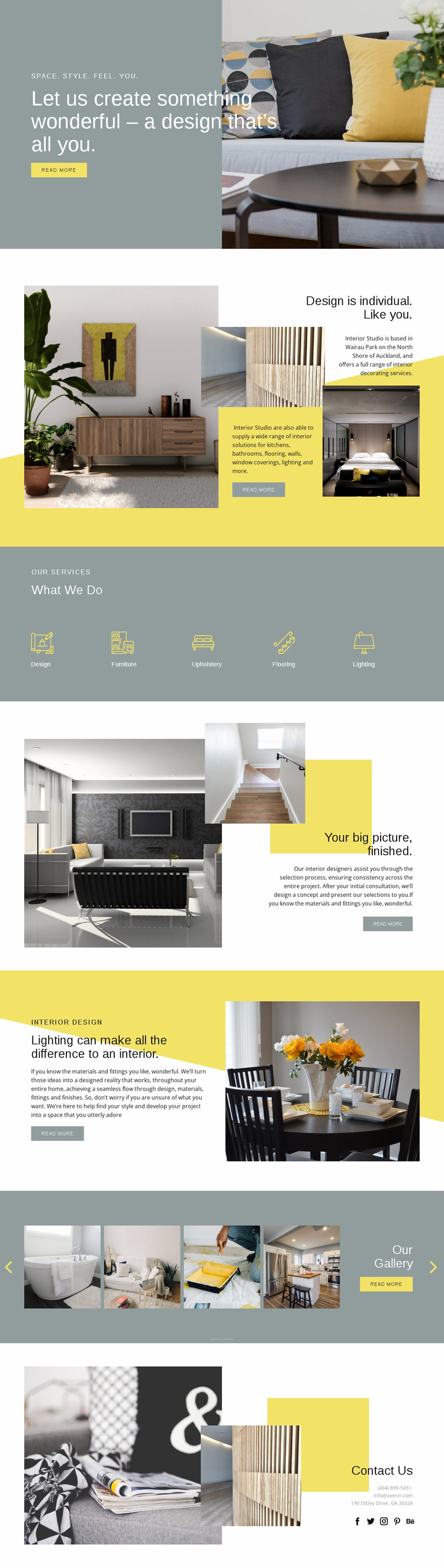 Design is your everything Website Template