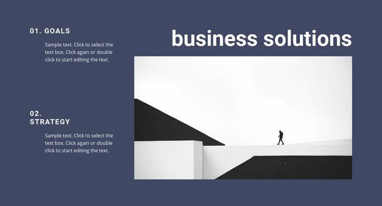 Business assistants Web Page Design