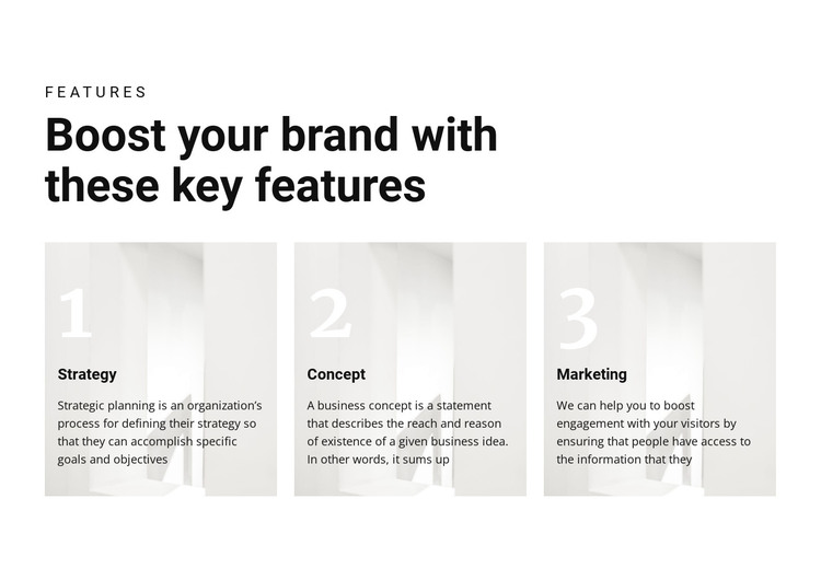 Important keys to victory HTML Template