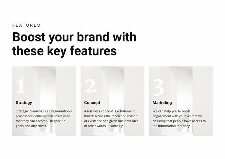 Important keys to victory Website Design