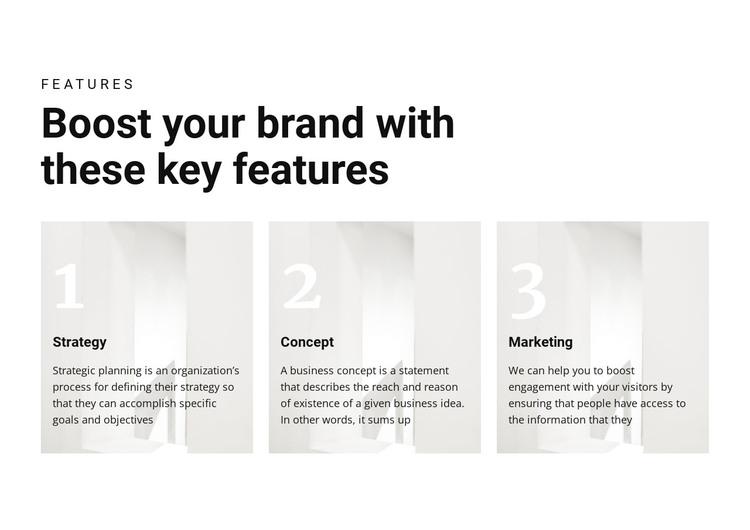 Important keys to victory WordPress Theme