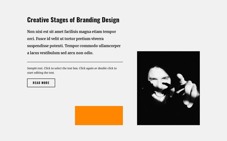 Creativity and relevance of design Website Builder Software