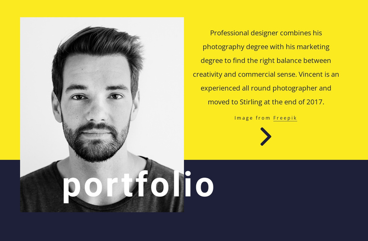 Graphic designer One Page Template