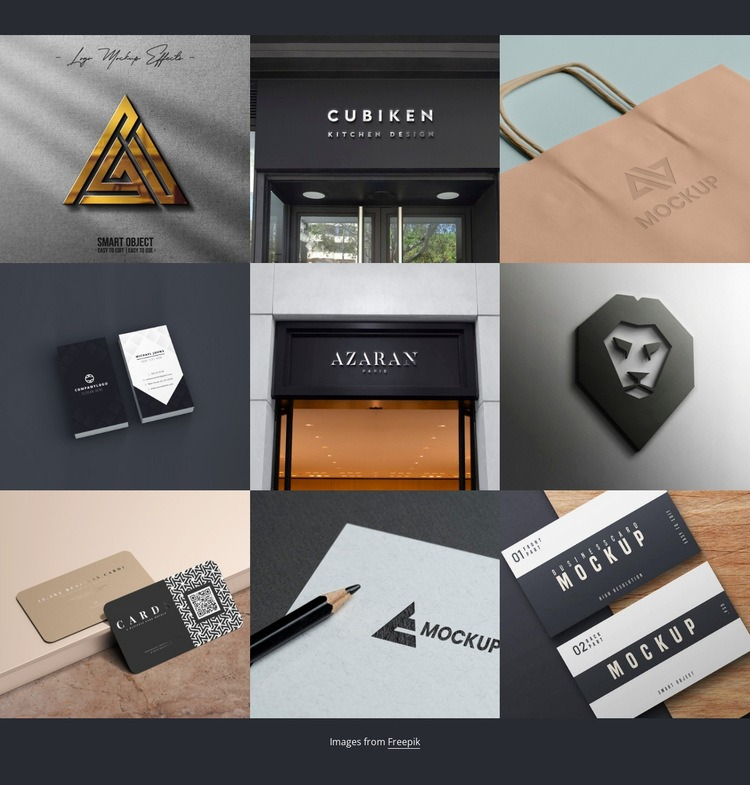 Portfolio Homepage Design