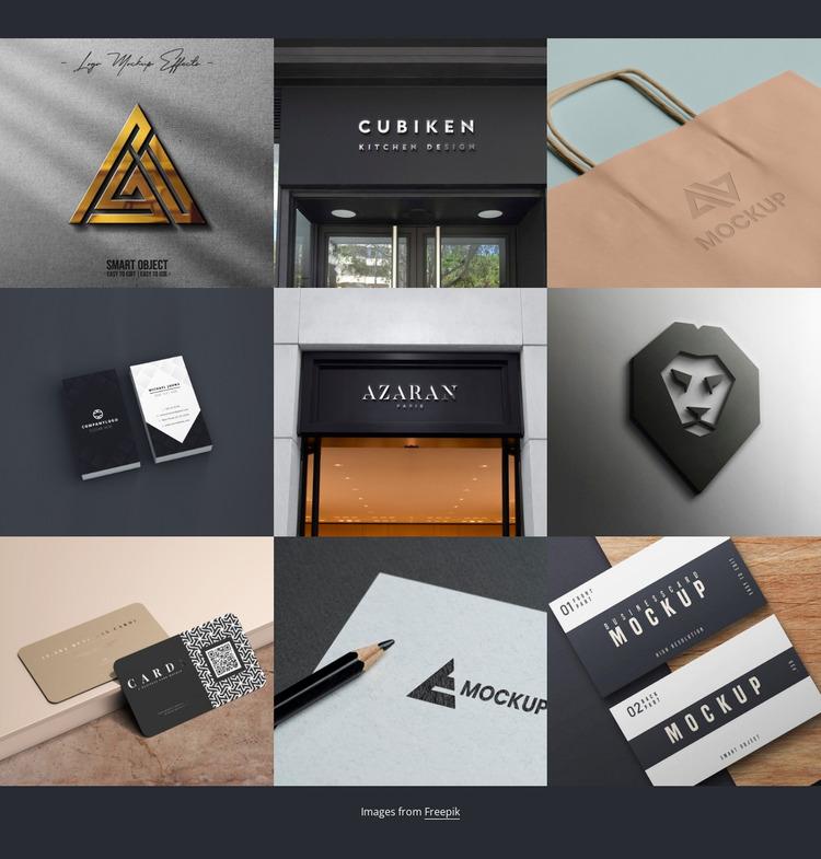 Portfolio Website Mockup