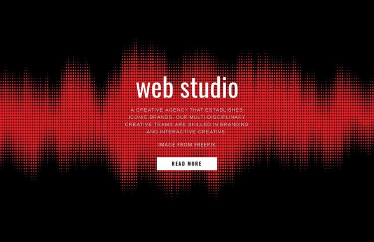 Great design Landing Page