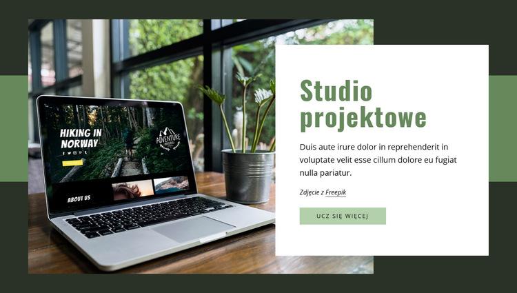 Tworzymy strony internetowe, aplikacje, grafiki Szablon witryny sieci Web