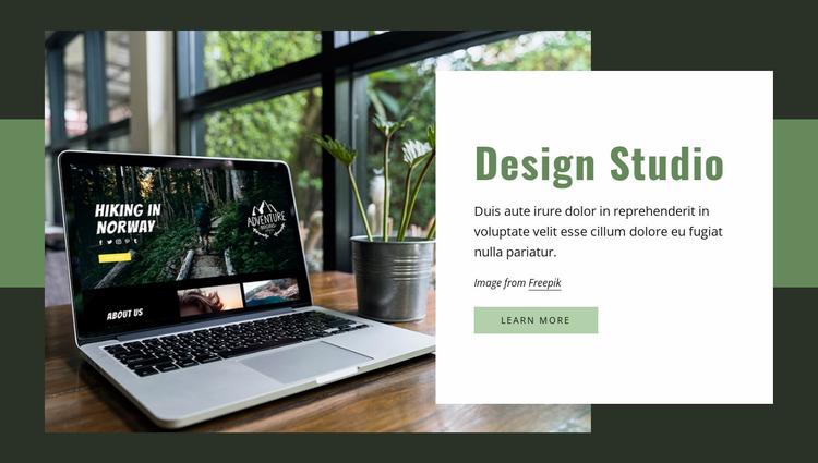 We create websites, apps, graphics Website Mockup