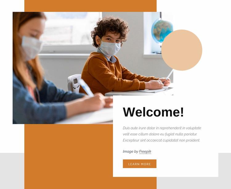 Fun science experiments Html Website Builder