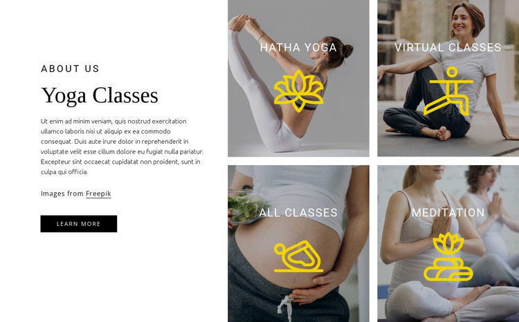 We help develop core strength HTML Template