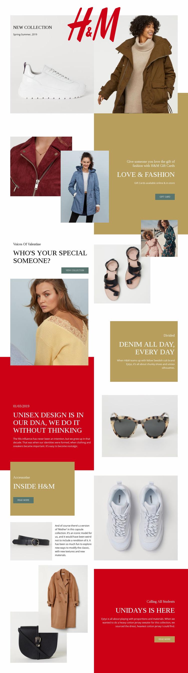 HM Web Page Design