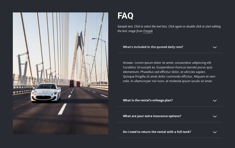 Questions to ask when renting a car Static Site Generator